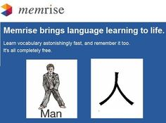 memrise - making Chinese writing and language fun and easy