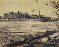 Gasfabriek 03/1882 Vincent van Gogh