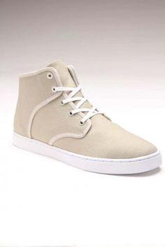 KR3W Grant Mid Shoe Off White
