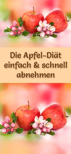 Super einfache und schnelle Apfel-Magerquark-Diät zum Abnehmen mit nur 840 kcal/Tag - Low Carb, Low Fat, gesund ...