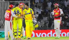 Highlights in pictures of the IPL match between Kings XI Punjab (KXIP) and Chennai Super Kings (CSK), at Mohali on Wednesday. Chennai Super Kings, Highlights, Sports, Image, Hs Sports, Sport, Highlight, Hair Highlights