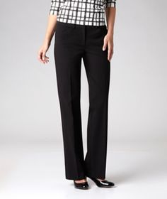 New to Mark's from the SUNG by Alfred Sung Collection - these stylish dressy trousers have a signature look, with a relaxed fit through the hip and thigh and flattering straight legs.   Mark's Work Wearhouse, Yorkton