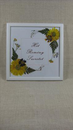Saját virágaimat magam préselem, majd használom fel faliképek, képeslapok, könyvjelzők készítéséhez.