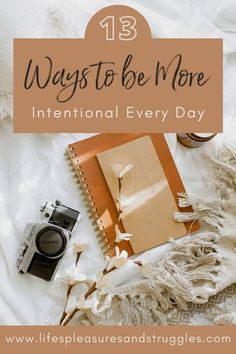 Are you tired of living your life on autopilot and looking for simple ways to be intentional in your every day life? Intentional living is a way of thinking about your life that's purposeful and deliberate. You make intentional choices and conscious decisions to make sure that what you do each day enables you to focus on what really matters to you. Intentional living can help and change your life for the better – by giving it meanings and purpose. #intentionalliving #simpleliving #selfcare
