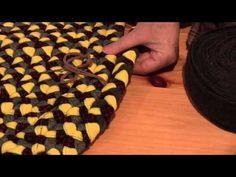 Coup d'oeil sur le tapis tressé - YouTube