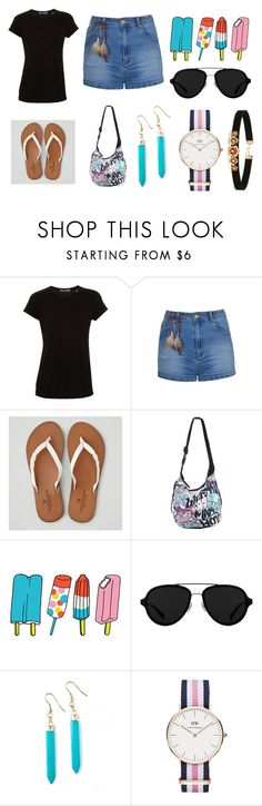 """meus looks"" by euerikamiranda on Polyvore featuring moda, Vince, Ally Fashion, American Eagle Outfitters, Disney, Tattly, 3.1 Phillip Lim, Daniel Wellington e Forever 21"