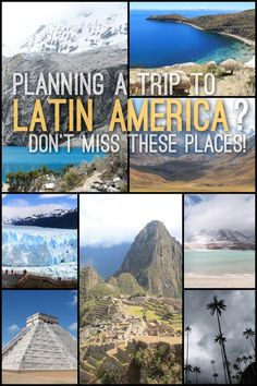 If you're planning a trip to Latin America make sure you check out some of these awesome places. From the mountains of South America to the beaches of Central America -- these are some of the best places to see in Latin America