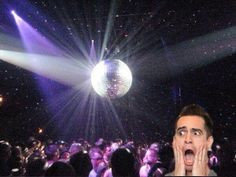 He's panicking at the disco