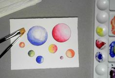 How to Control Watercolors