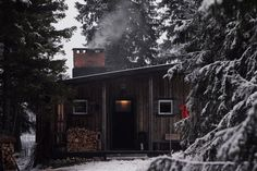 Cabin in Jämtland, Norrsjö, Sweden [1280 × 853] - Modern and Vintage Cabin Decorating Ideas, Small Cabin Designs, Cabins Interior and Decor Inspiration