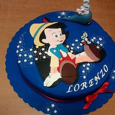 This Cake Doesn't Lie!: Pinocchio, an old-fashioned favorite, is transformed for a magical cake.
