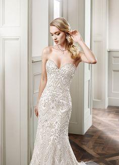 Eddy K. Wedding Gown CT160  #bridal #bride #gown