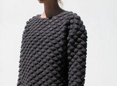 bobble knit sweater : Minimal + Classic | Nordhaven Studio