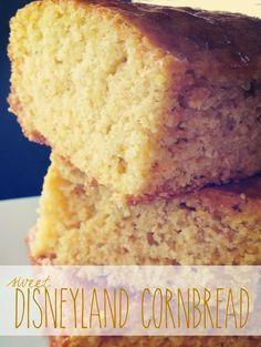 Disneyland Cornbread // yellow cake mix + jiffy corn muffin mix