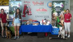 Kat, Katie, and Tina (and Amanda, behind the camera!) at the Richmond Squirrel's Bark in the Park game!