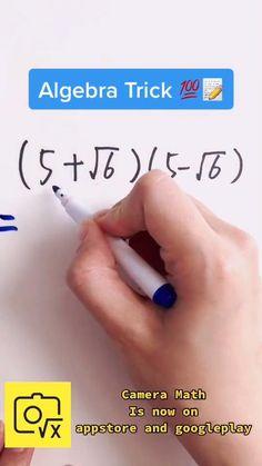 Math Vocabulary, Maths Algebra, Life Hacks For School, School Study Tips, Math For Kids, Fun Math, Simple Math, Easy Math, Cool Math Tricks