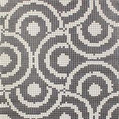 Mosaic Spiral Wallpaper – Greys from Wallpaper Elegance - R399