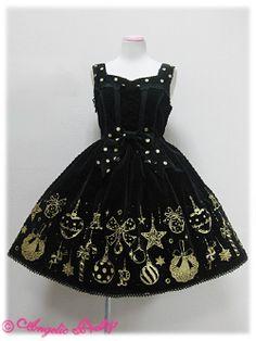 Twinkle Ornament JSK Black or Wine, 2010
