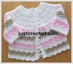 Baby Coat Free Crochet Pattern