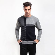 2ffec0ac943 Aliexpress.com   Buy 100% Wool Pullover Polo Ralp Men Sweater Sudaderas  Slim Pull