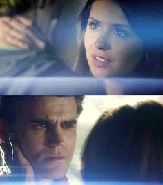 "I'm not saying I don't like Damon but gosh daren't Elena what happen to ""it's always been Stefan"".??"