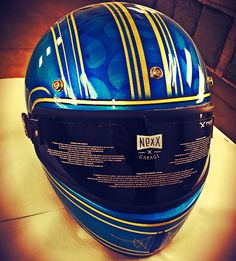 """The Paint Slinger Lid Feature - """"The"""" Taylor Schultz painted the Nexx Helmet is featured at the Republic of Texas Invitational Custom Bike Show sponsored by Russ Brown."""