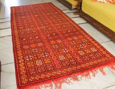 Vintage Moroccan Rug Handmade All Wool Rare Find, Tribal Berber Beauty from Morocco Large. 70 YEARS OLD by AuthenticBeniOurain on Etsy Berber Rug, Handmade Rugs, Rug Runner, Shop Sale, Moroccan, Vintage Rugs, Beni Ourain, Wool Rug, Antiques