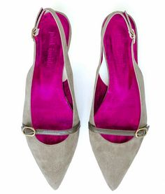 Jacky Taupe, pinkinside.com Pointy Flats, Taupe, Pink, Shoes, Fashion, Moda, Shoes Outlet, Fashion Styles, Shoe