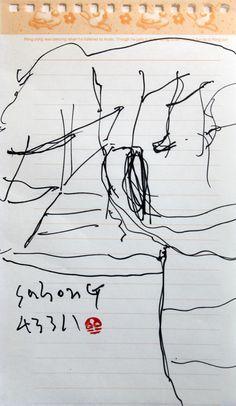 https://www.facebook.com/sahong.gum Gum-Sahong Drawing, Landscape 금사홍, 드로잉, 大地를 위한