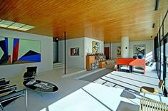 Eames and Saarinen's Case Study House #9 is For Sale / casestudy05dailyicon
