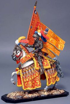 KNIGHTS: Medieval Mounted Knights 54mm (artist unknown) Help eliminate poor pinning! If you know the artist and can supply a link, please update this pin. Thank you!