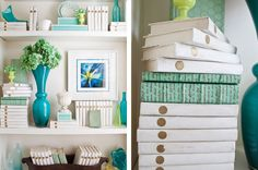 Jolene Smith Interiors Decorative Bookshelf