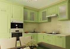 дизайн кухни оливковый 10 кв м - Поиск в Google
