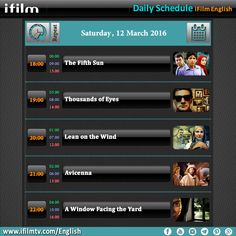 Check out today's iFilm schedule. #iFilm