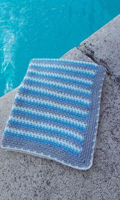 mantas de ganchillo para bebes Crochet Designs, Crochet Patterns, Crochet Baby Blanket Free Pattern, Baby Knitting, Crochet Projects, Mini, Knit Crochet, Outdoor Blanket, Instagram