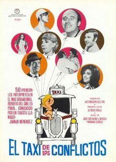 """Concha Velasco: """"El taxi de los conflictos (1969).."""