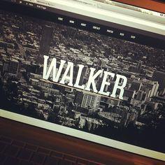 The portfolio website of Graphic & Web Designer, Derek Walker