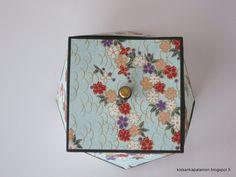 Kissankäpälä: Japanilainen paperirasia, Japanese paper box