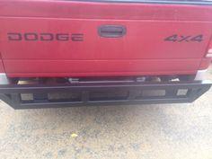 2001 Homemade rear bumper - DODGE DAKOTA FORUM - FORUM AND OWNERS CLUB!