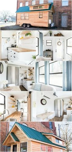 160 Square Foot Lindley Tiny House from North Caro…