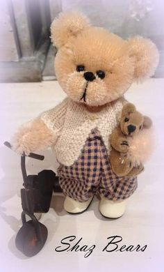 Pedro and Pookie by By Shaz Bears | Bear Pile