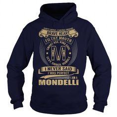 MONDELLI Last Name, Surname Tshirt