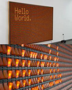 cool message board idea