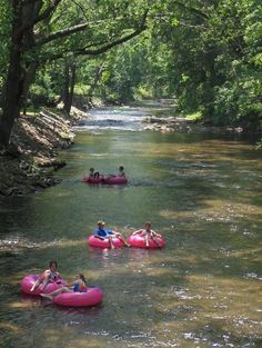 Tubing the Chatahoochee River, Helen. Forget snow tubing in the cold; this is how tubing is done in the South!