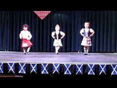 Highland dance - Primary 16 Pas De Basques (6 and younger) - YouTube