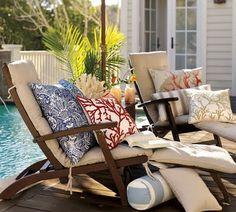 comfort around the pool...