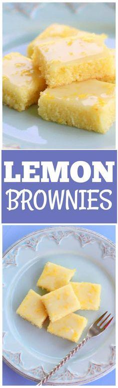 Lemon Brownies. Replace eggs, keep it vegan and cruelty free.