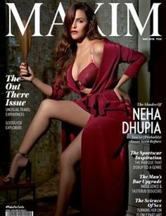 Neha Dhupia looks scorching hot as she appears on the cover page of Maxim India magazine May 2018 issue. On the personal front, Neha Dhupia recently… Maxim Magazine Covers, Hot Poses, Photoshoot Images, Popular Actresses, Make Her Smile, Indian Models, Indian Girls, Beautiful Actresses, Beautiful Celebrities