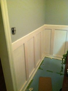Wainscoting Board And Batten Part 1 Mud Rooms