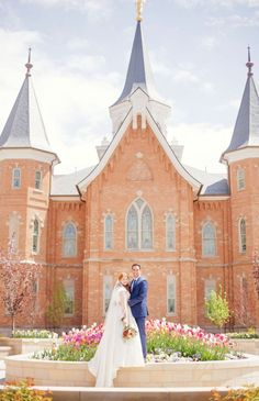 Gorgeous Provo City Center Wedding.